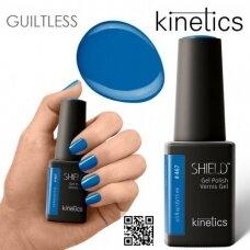 Gelinis nagų lakas Kientics Shield Gel Polish BLUE JEANS #467, 15ml
