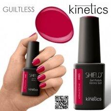Gelinis nagų lakas Kinetics #465 BLOODY RED, 15ml