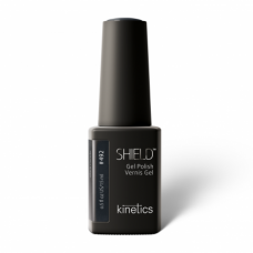 Gelinis nagų lakas Kinetics Shield Gel Polish #492 BLACK PARADE, 15ml