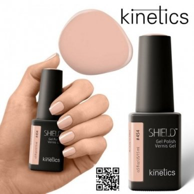 Gelinis nagų lakas Kinetics Shield Gel Polish #453 UNCONDITIONAL LOVE, 15ml 2