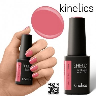 Gelinis nagų lakas Kinetics Shield Gel Polish #456 SYNERGY MATCH, 15ml 2