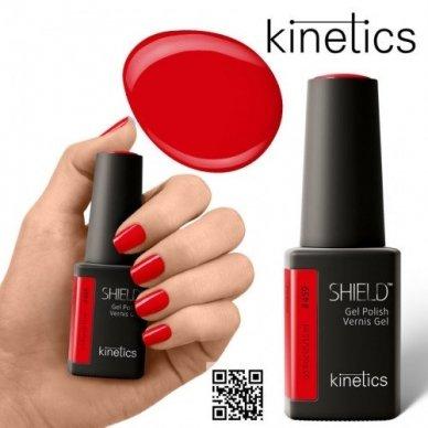 Gelinis nagų lakas Kinetics Shield Gel Polish #459 KINDRED, 15ml 2