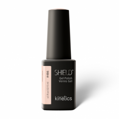 Gelinis nagų lakas Kinetics Shield Gel Polish #486 PEARL GLAZE, 15ml