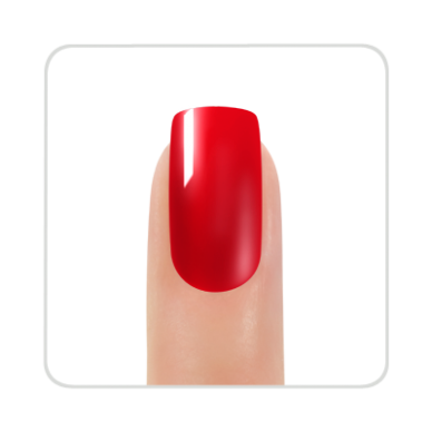 Gelinis nagų lakas KINETICS SHIELD Gel Polish Bonnie Red #076, 11 ml 2