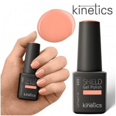 Gelinis nagų lakas Kinetics Shield Gel Polish Prima #315, 15ml