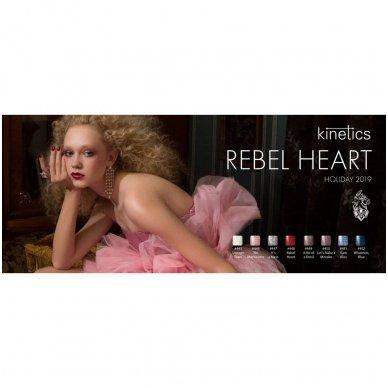 Gelinis nagų lakas Kinetics Shield Gel Polish REBEL HEART #448, 15ml 5
