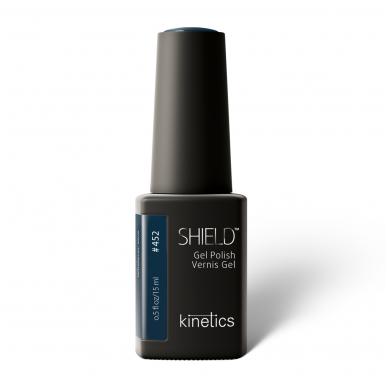 Gelinis nagų lakas Kinetics Shield Gel Polish WHATEVER, BLUE #452, 15ml