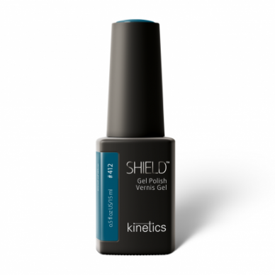 GELINIS NAGŲ LAKAS KINETICS SHIELD Kind of Blue #412, 15ml