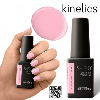 Gelinis nagų lakas Kinetics Shield Gel Polish #457 SECRET WEAPON, 15ml 3