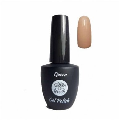 Gelinis nagų lakas Queen Bee Gel Polish #012, 9 ml