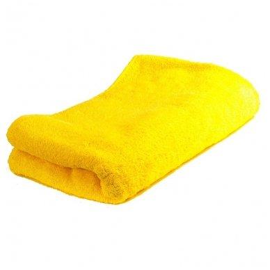 Geltonas kilpinis rankšluostis, 70 x 140 cm