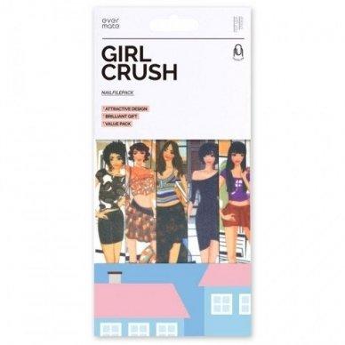 GIRL CRUSH nagų dildžių rinkinys, 150/220, 5 vnt.