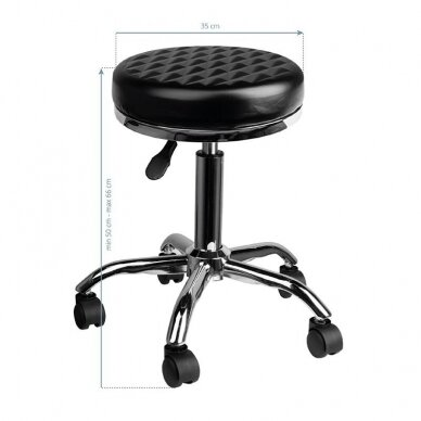 Grožio salono kėdė AM-302 DIAMOND 4