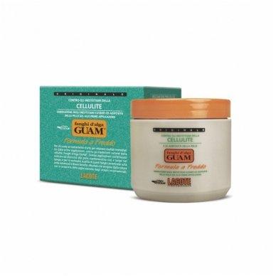GUAM aktyvaus poveikio anticeliulitinis kremas - šaltoji formulė, 500 ml