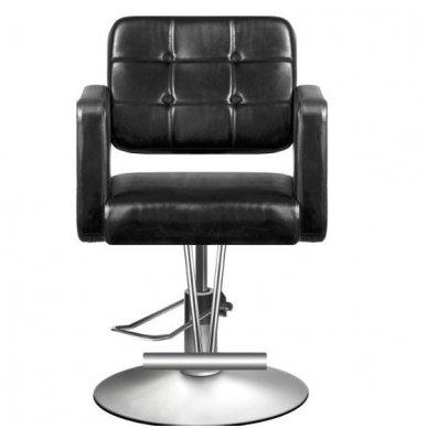 Kirpyklos kėdė HAIR SYSTEM 90-1, juodos sp. 3