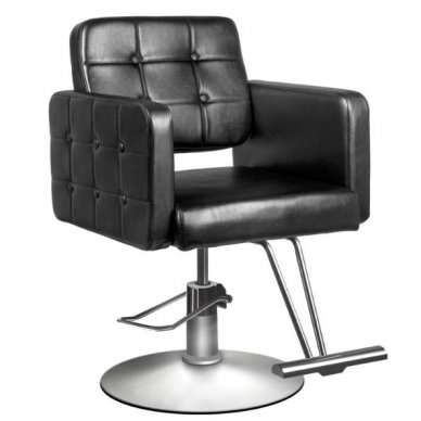 Kirpyklos kėdė HAIR SYSTEM 90-1, juodos sp.