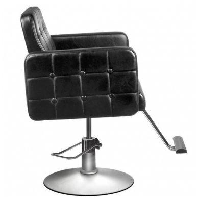 Kirpyklos kėdė HAIR SYSTEM 90-1, juodos sp. 2
