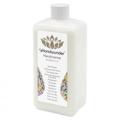Handcreme Plus , rankų kremas su A + E vitaminais, sausai pažeistai odai, 500 ml