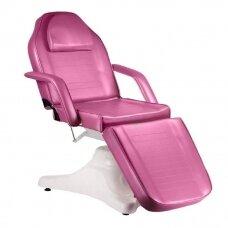 Hidraulinis kosmetologinis gultas BD-8222, rausvos sp.