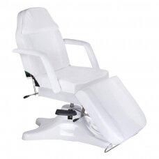 Hidraulinis kosmetologinis krėslas BD-8222, baltos sp.