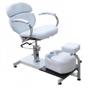 Hidraulinė pedikiūro kėdė su vonele SPA-100A, baltos sp.