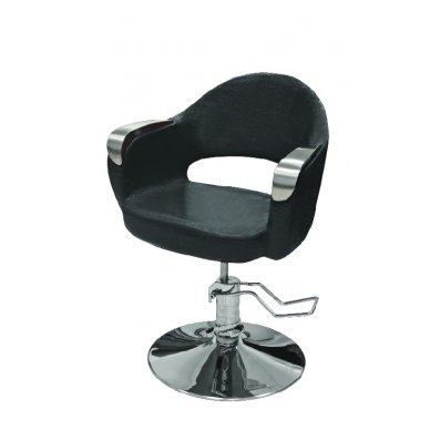 Hidraulinė kėdė kirpyklos klientams