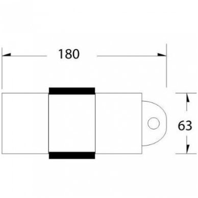 Hidraulinis kosmetinis krėslas A-234, baltos spalvos 6