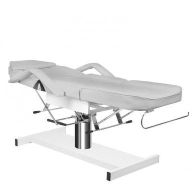 Hidraulinis kosmetologinis krėslas A 210, pilkos sp. 4