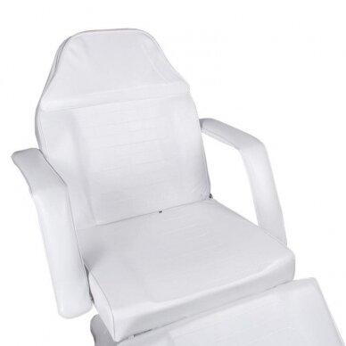 Hidraulinis kosmetologinis krėslas BD-8222, baltos sp. 2