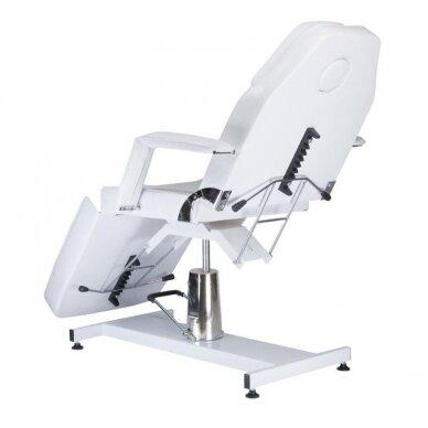 Hidraulinis kosmetologinis krėslas BW-210, baltos sp. 3