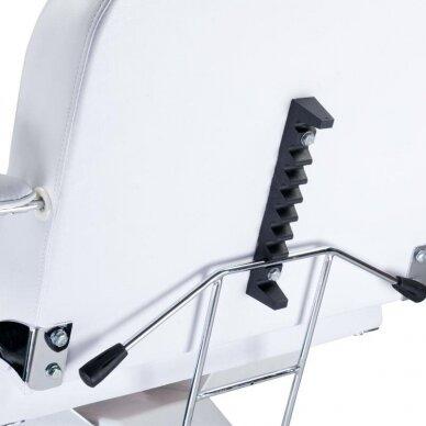Hidraulinis kosmetologinis krėslas BW-210, baltos sp. 4