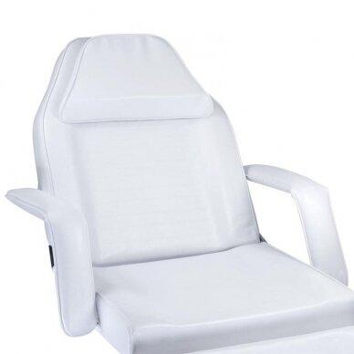 Hidraulinis kosmetologinis krėslas BW-210, baltos sp. 2