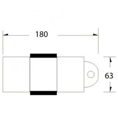Hidraulinis pedikiūro krėslas PEDI A210C, baltos spalvos 3