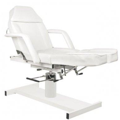 Hidraulinis pedikiūro krėslas PEDI A210C, baltos spalvos 4