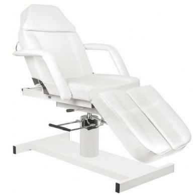 Hidraulinis pedikiūro krėslas PEDI A210C, baltos spalvos 6