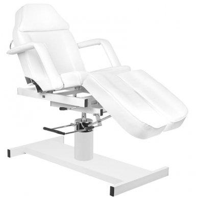 Hidraulinis pedikiūro krėslas PEDI A210C, baltos spalvos 7