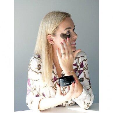 Hidrogelio paakių pagalvėlės Be Osom Black Pearl Hydrogel Eye Patch, su juodaisiais perlais, 60 vnt. 4