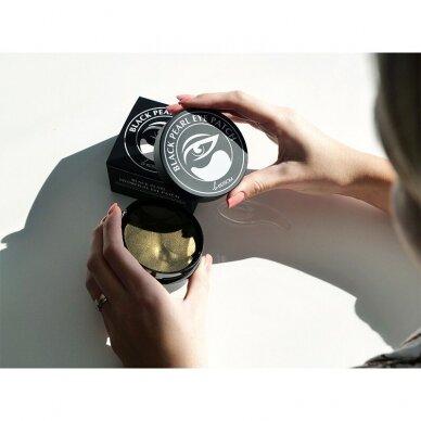 Hidrogelio paakių pagalvėlės Be Osom Black Pearl Hydrogel Eye Patch, su juodaisiais perlais, 60 vnt. 3