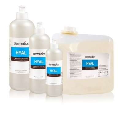 HYAL gelis kosmetologinėms procedūroms, 500 g 2