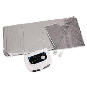 Infraraudonųjų spindulių antklodė + odos masažuoklis, BR-2001