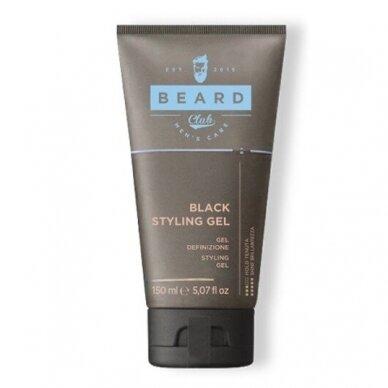 Juodas modeliavimo gelis plaukams KAY PRO BEARD CLUB, 150ml