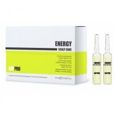 KAY PRO ENERGY Scalp care losjonas silpniems, ploniems plaukams 12 x 10 ml