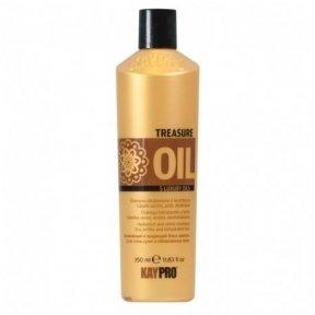 KAY PRO TRESURE OIL šampūnas silpniems plaukams, 350 ml.