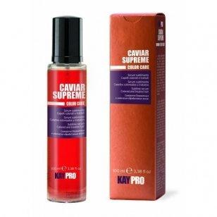 KAY PRO CAVIAR SUPREME serumas su ikrais dažytiems ir nualintiems plaukams 100 ml