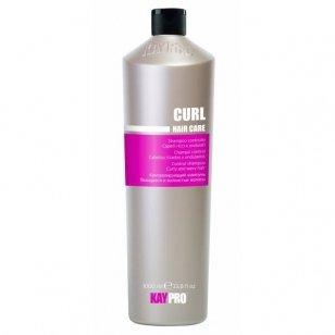 KAY PRO CURL garbanotus plaukus kontroliuojantis šampūnas, 350 ml