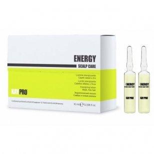 KAY PRO ENERGY Scalp care losjonas silpniems, ploniems plaukams 12 x 10 ml