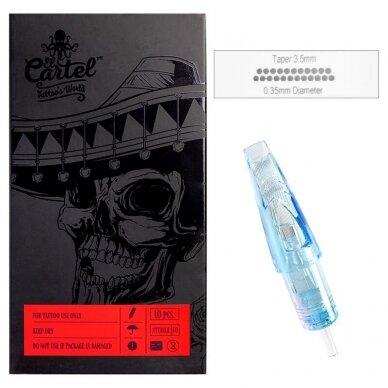 Kartridžas El Cartel 1223RM-2 10vnt. 0.35mm