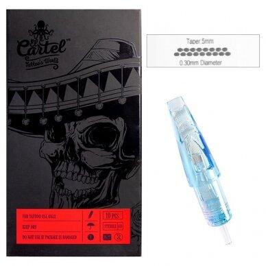 Kartridžas El Cartel 1017M-1 10vnt 0.30mm