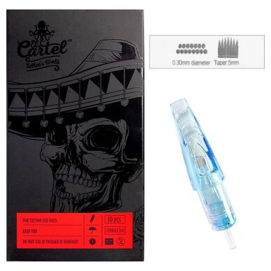 Kartridžas El Cartel 1015RM-1 10vnt. 0.30mm