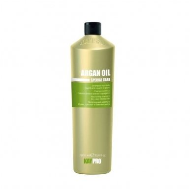 KAY PRO ARGAN OIL maitinamasis šampūnas sausiems, silpniems, nualintiems plaukams, 350 ml
